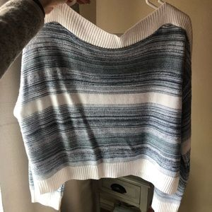 Wide neck sweater from Francesca's